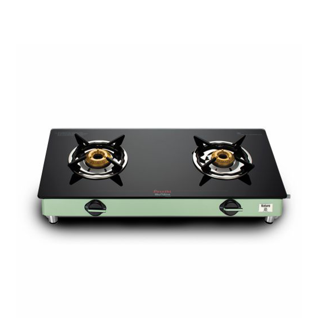 Preethi Gleam Nature 2 Burner(Deliveries only after lockdown)