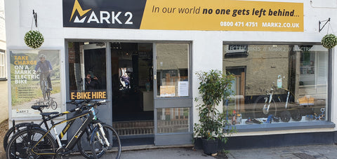 E-bike shop electric bikes to buy or hire Wiltshire