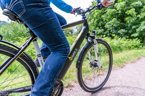 Electric bikes healthy exercise and fresh air