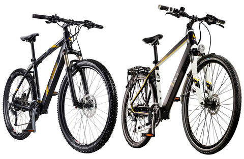 Electric bikes from Mark 2 ebikes