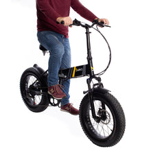 Load image into Gallery viewer, E-Motion Cruiser Folding Electric Bike
