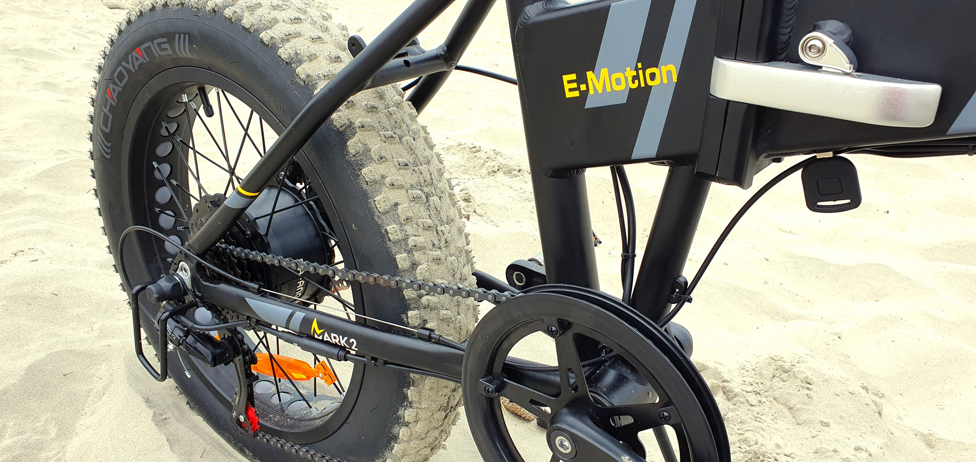 E-Motion Cruiser Folding Electric Bike Story