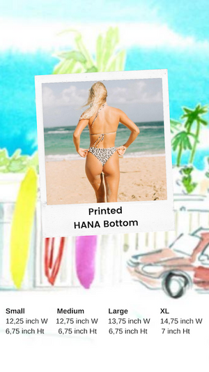 Printed Hana Bottom