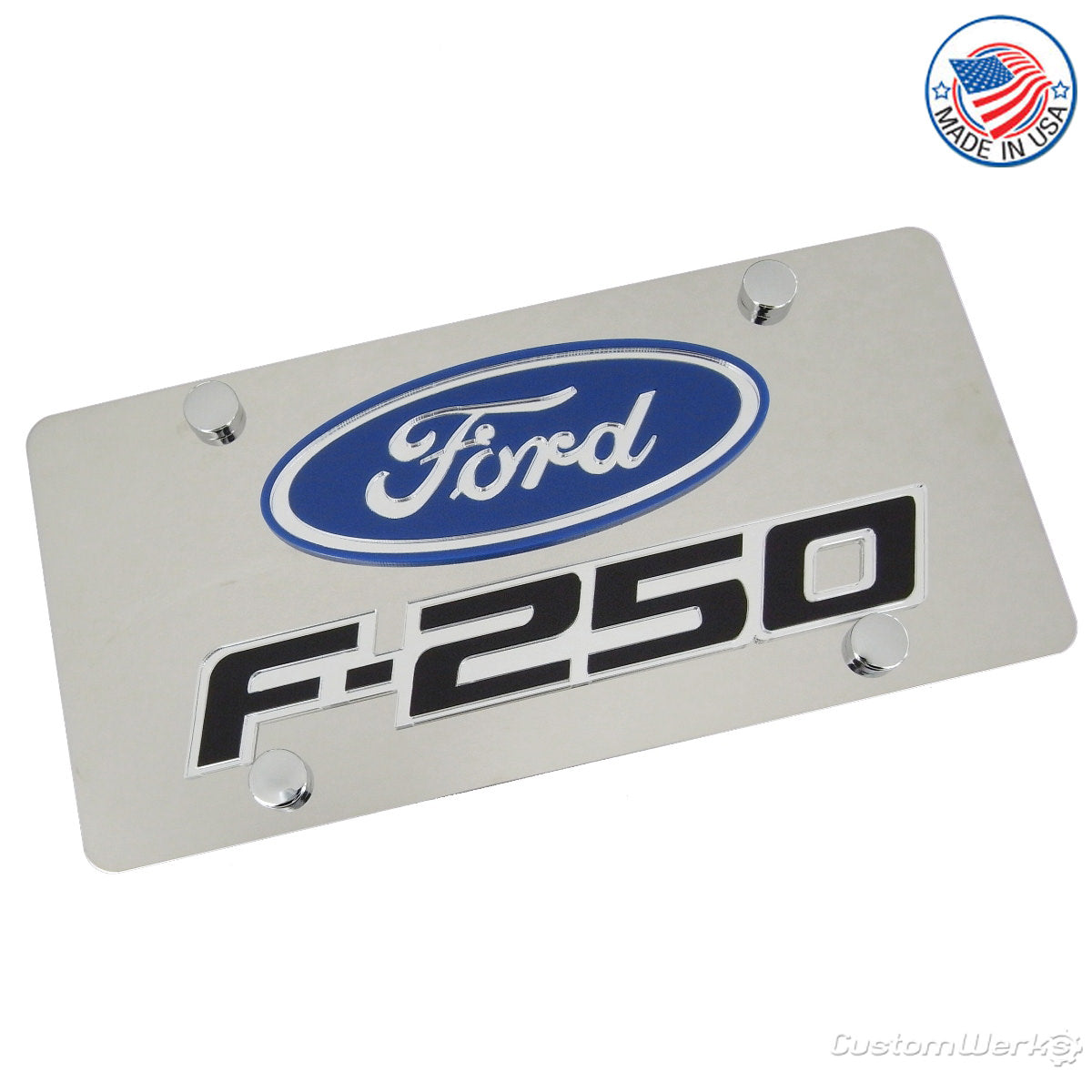 Ford F-250 Logo Plate