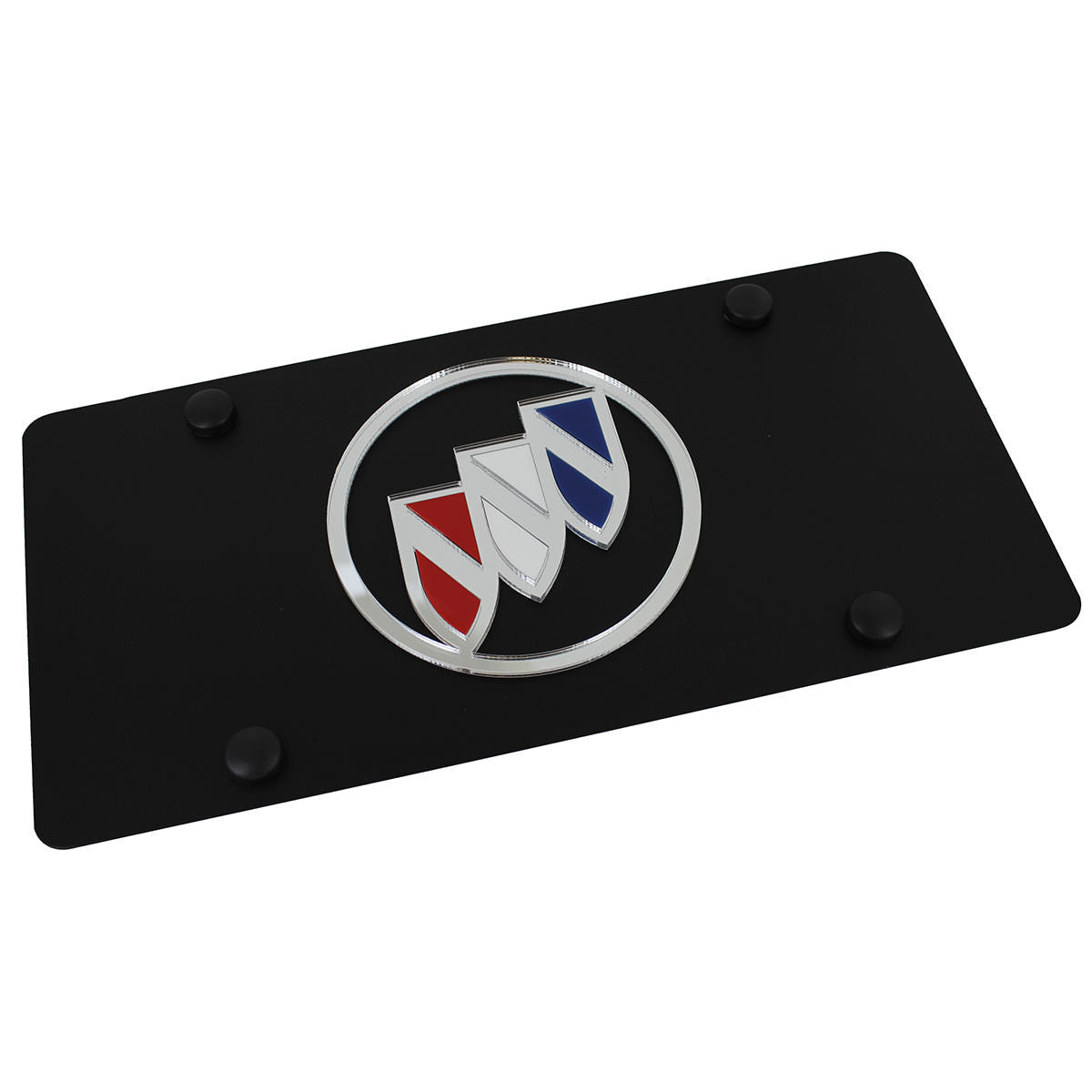 Buick Logo License Plate (Black) - Custom Werks