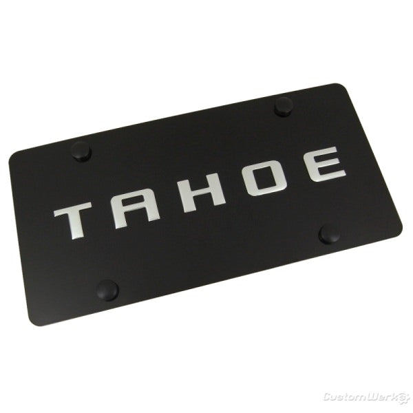 Chevy Tahoe Logo Plate