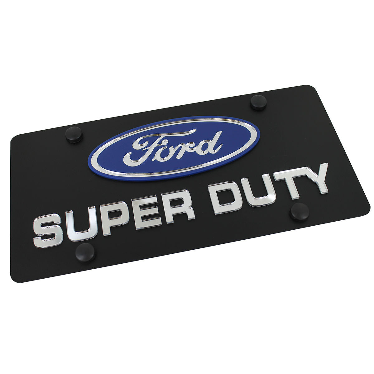 Ford Super Duty Logo Plate