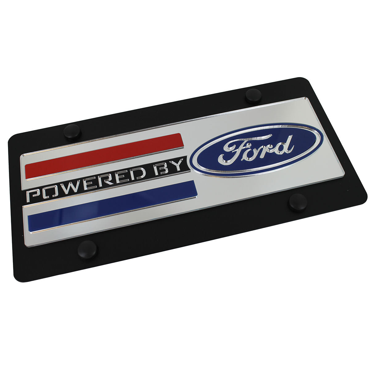 Ford Powered By Ford Logo Plate