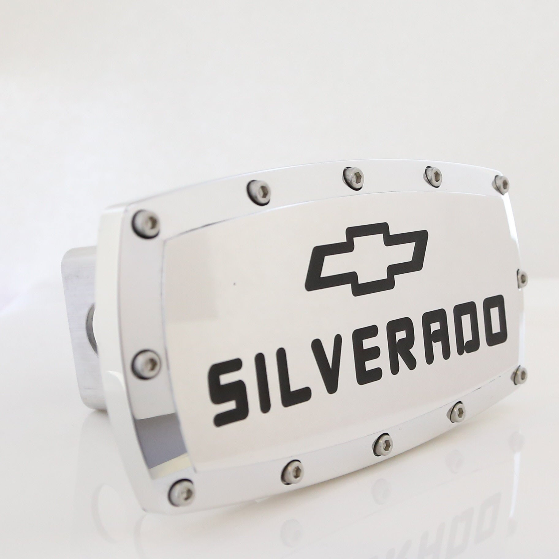 Chevy Silverado Hitch Cover