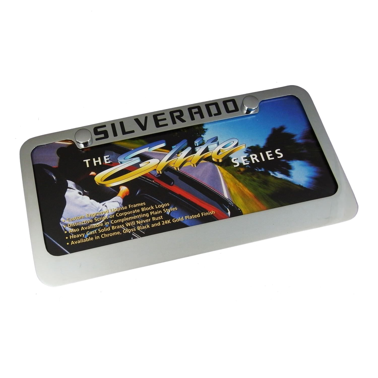 Chevy Silverado License Plate Frame