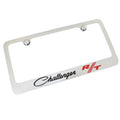 Dodge Challenger RT Classic Logo License Plate Frame (Chrome)