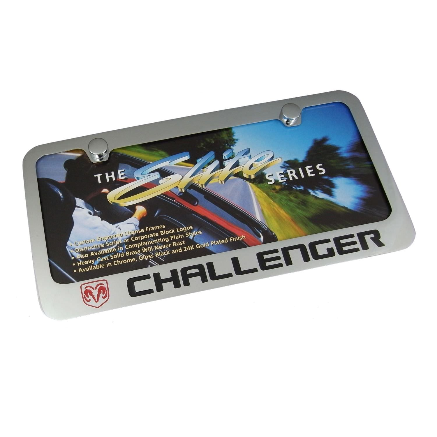 Dodge Challenger License Plate Frame
