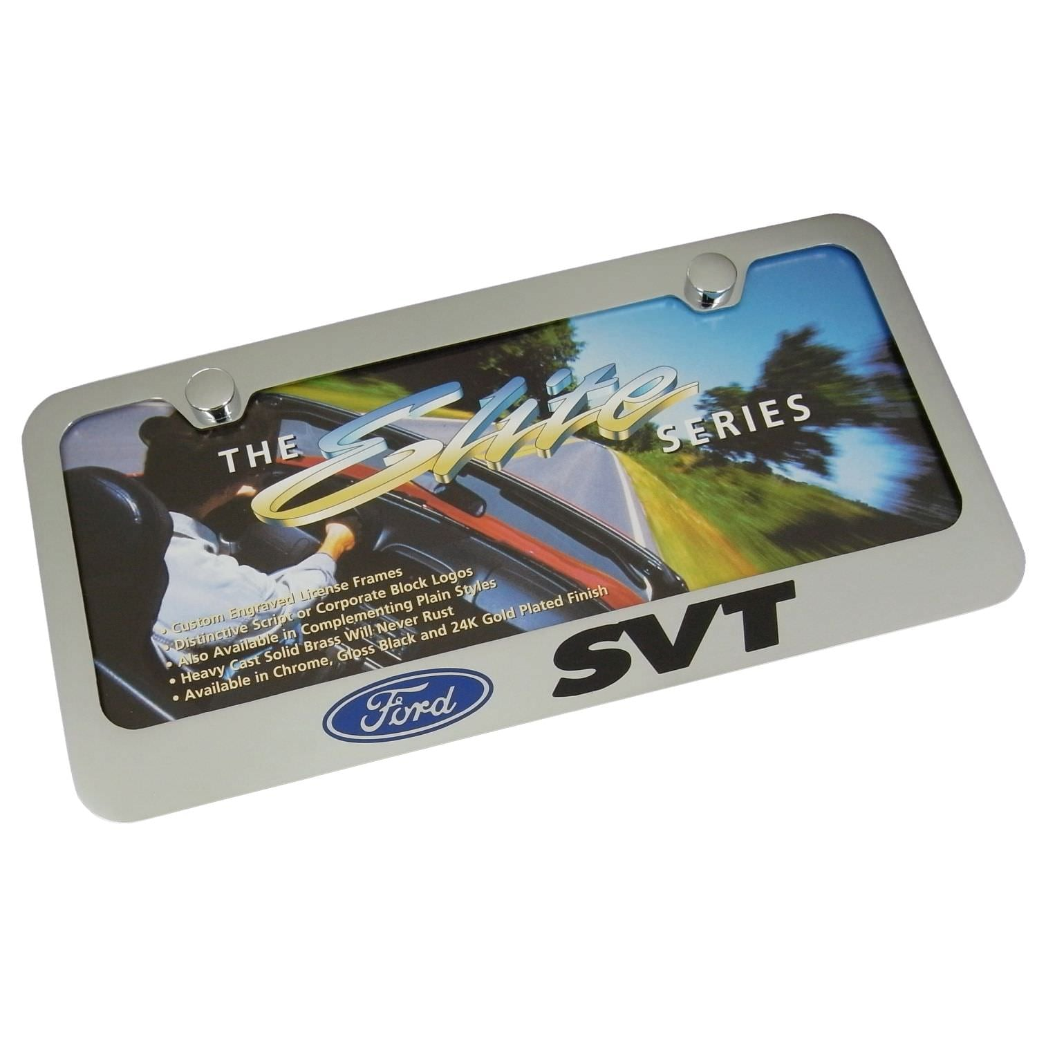 Ford SVT License Plate Frame
