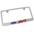 Ford SVT Red Name License Plate Frame (Chrome) - Custom Werks