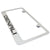 GMC Denali Black Fill License Plate Frame (Chrome)