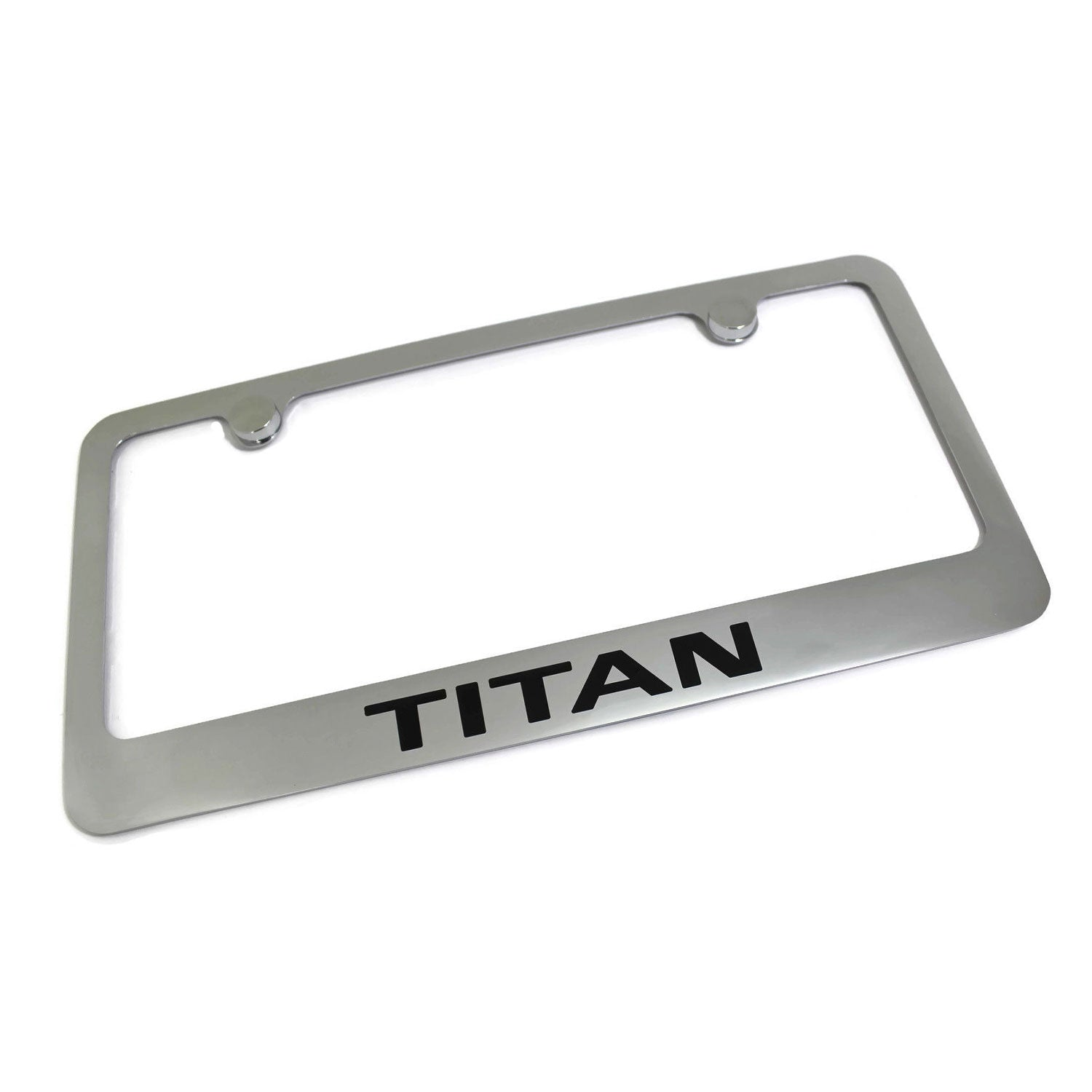 Nissan Titan License Plate Frame (Chrome) - Custom Werks