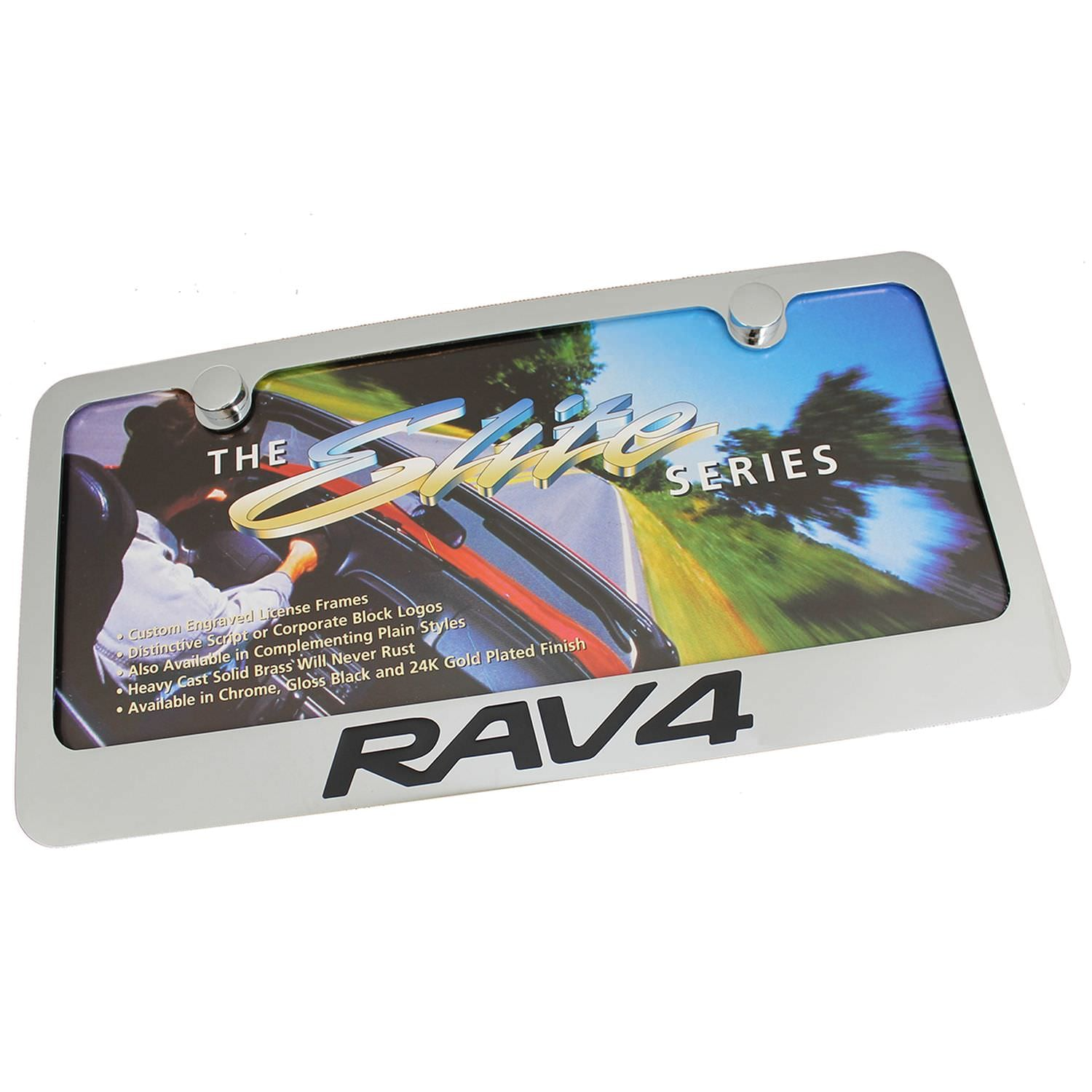Toyota RAV4 License Plate Frame (Chrome) - Custom Werks