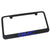 GMC Blue Logo License Plate Frame (Black) - Custom Werks