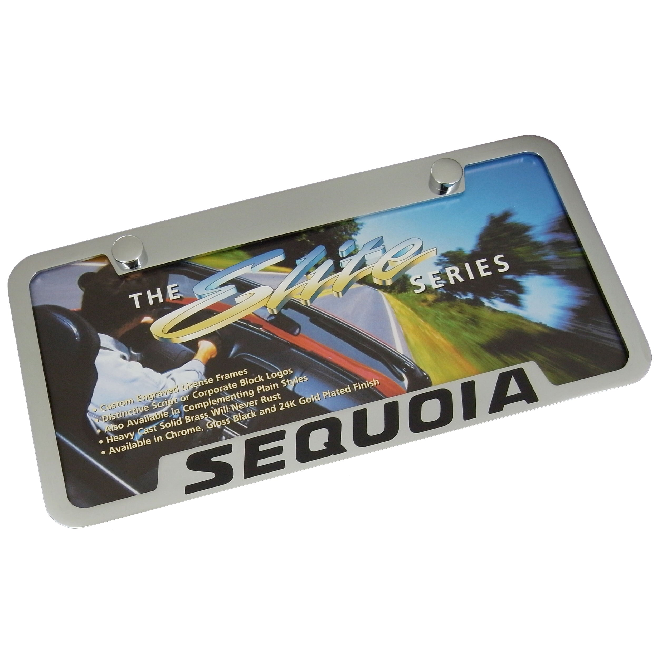 Toyota Sequoia License Plate Frame