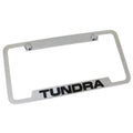 Toyota Tundra License Plate Frame (Chrome)