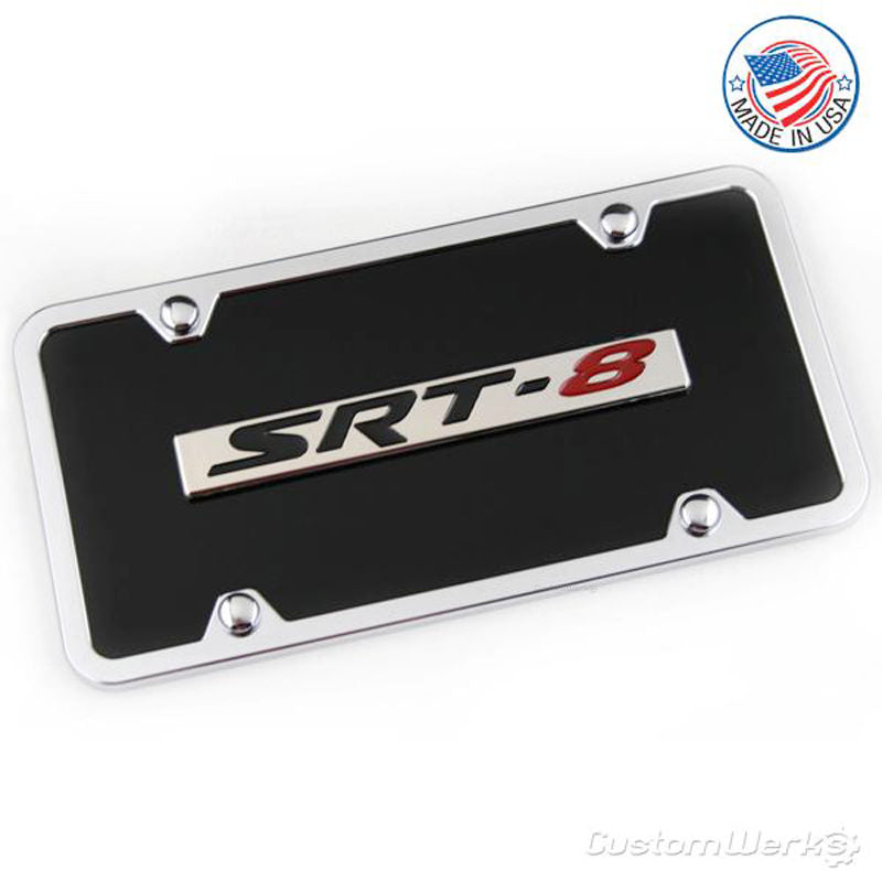 Dodge SRT-8 Logo Plate