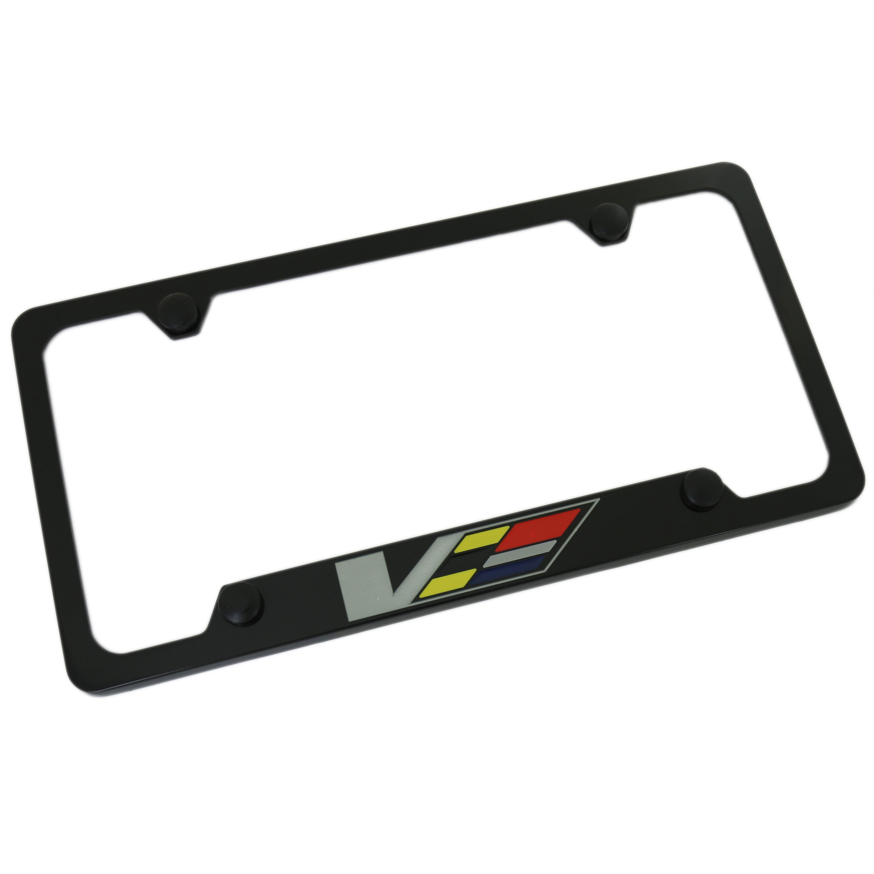Cadillac V-Series License Plate Frame (Black) - Custom Werks
