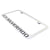 Chevy Silverado License Plate Frame (Chrome) - Custom Werks