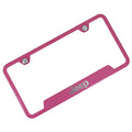 Jeep Logo Cut Out License Plate Frame (Pink)