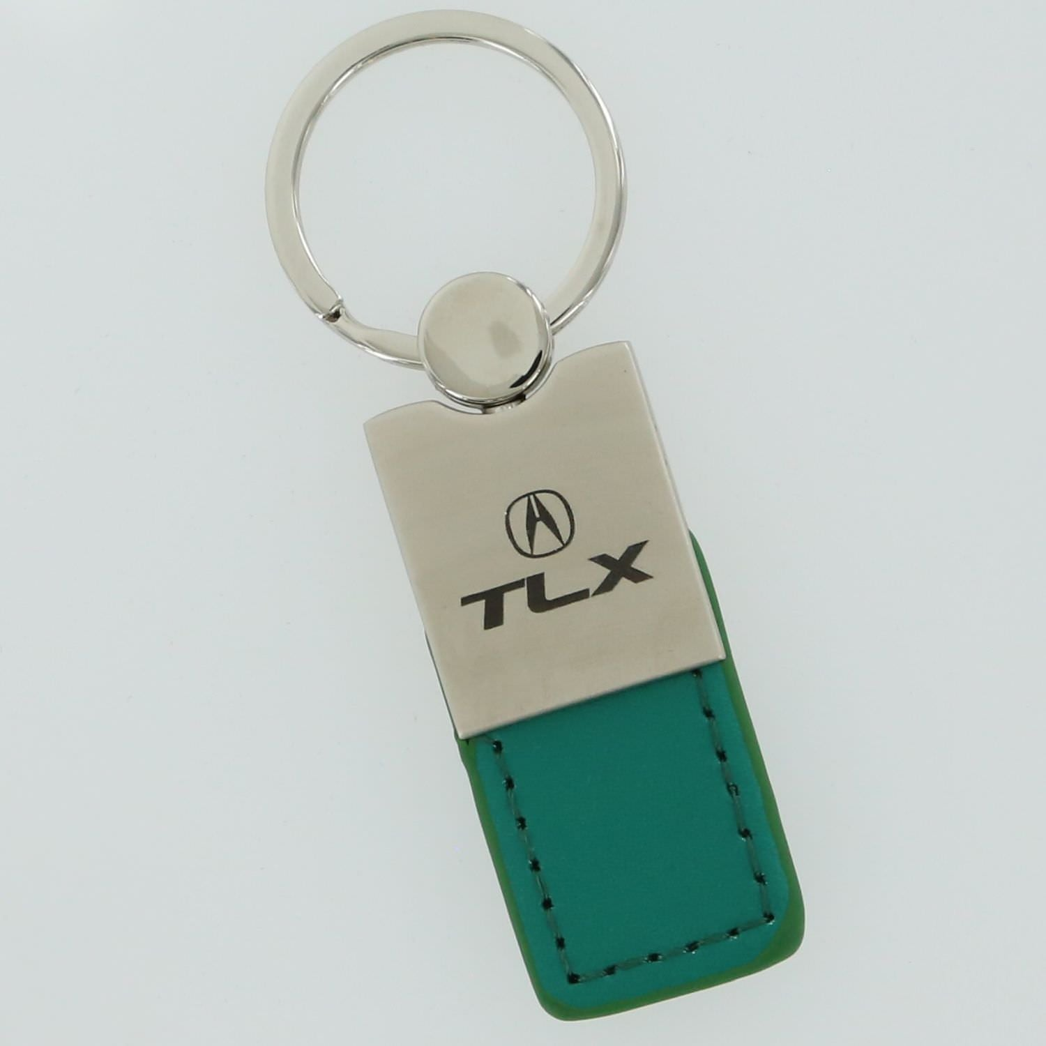Acura TLX Leather Key Ring (Green) - Custom Werks