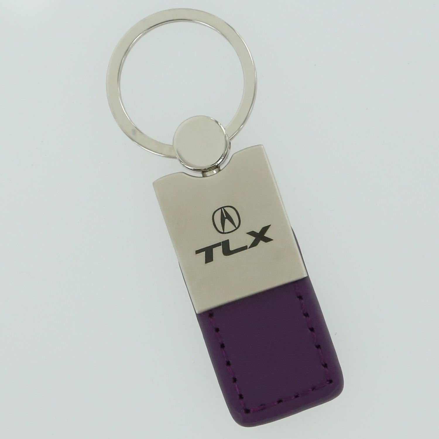 Acura TLX Leather Key Ring (Purple) - Custom Werks