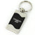 Chrysler 200 Spun Brushed Key Ring (Black) - Custom Werks