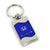 Honda Civic Reversed C Key Ring (Blue) - Custom Werks