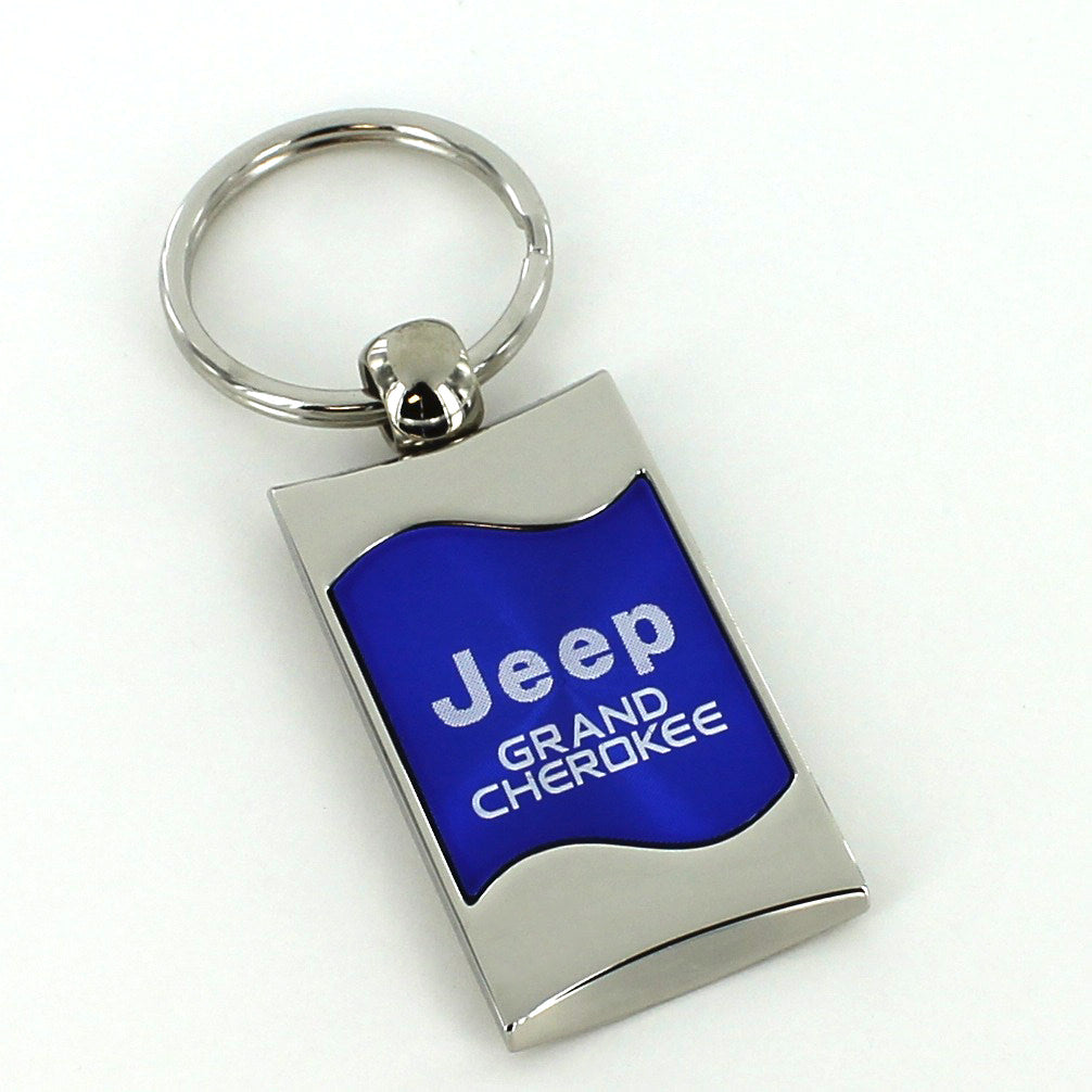 Jeep Grand Cherokee Key Ring (Blue) - Custom Werks