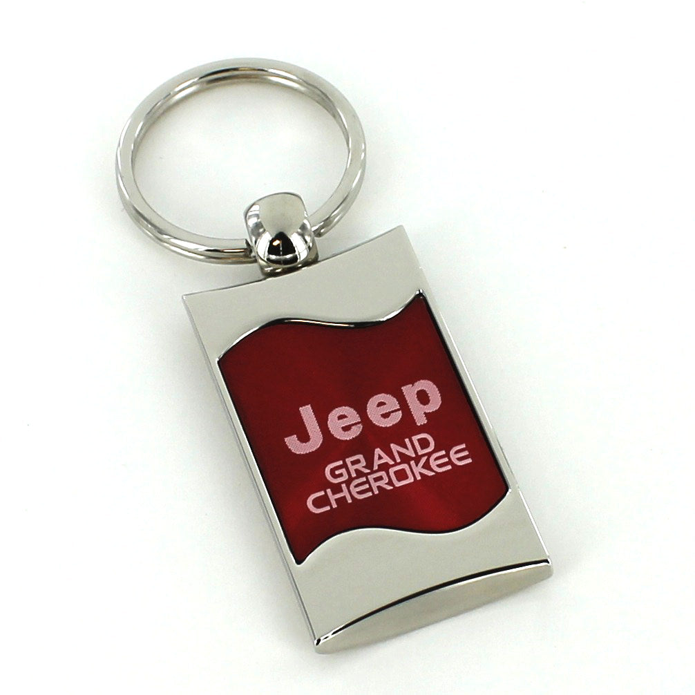 Jeep Grand Cherokee Key Ring (Red) - Custom Werks