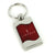 Lincoln Spun Key Fob (Red) - Custom Werks