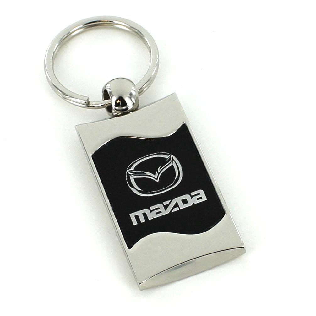 Mazda Spun Key Ring (Black) - Custom Werks