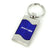 Dodge SRT4 Key Ring (Blue)