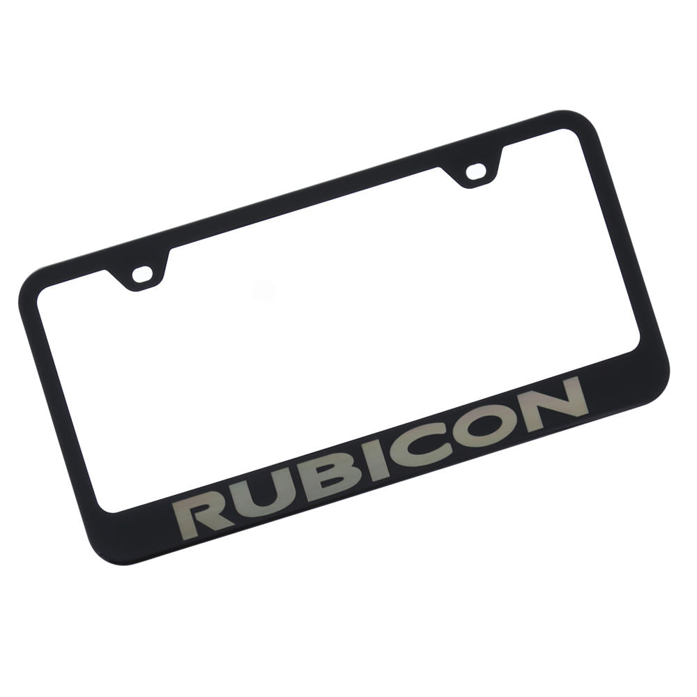 Jeep,Rubicon,License Plate Frame