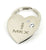 Lincoln MKX Heart Shape Keychain (Chrome) - Custom Werks