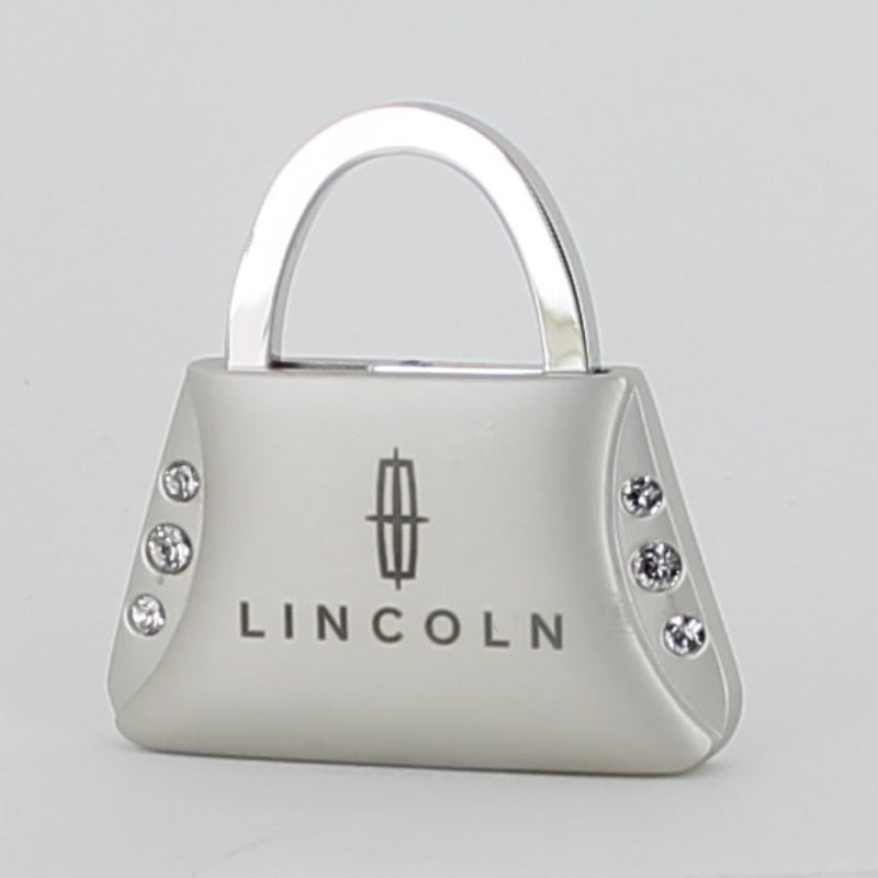 Lincoln Purse Shape Keychain (Chrome) - Custom Werks