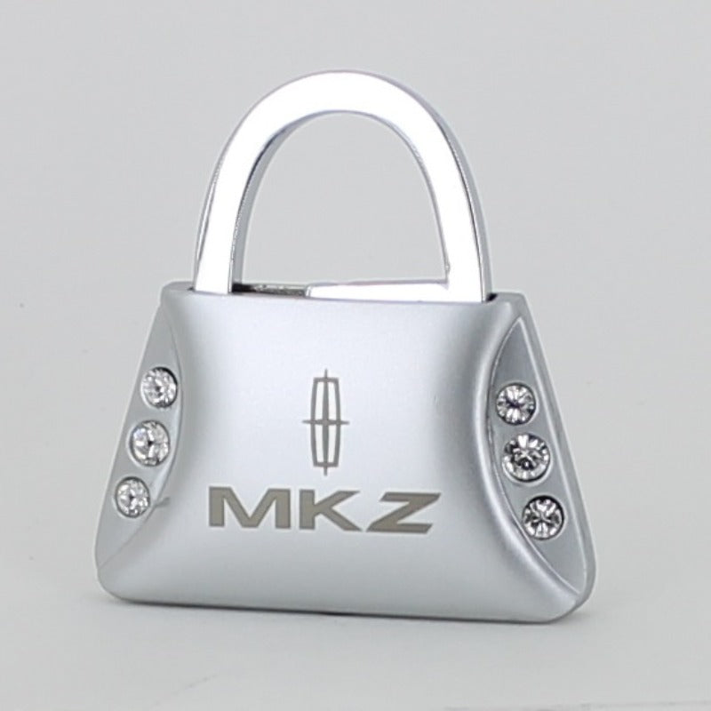 Lincoln MKZ Purse Shape Keychain (Chrome) - Custom Werks