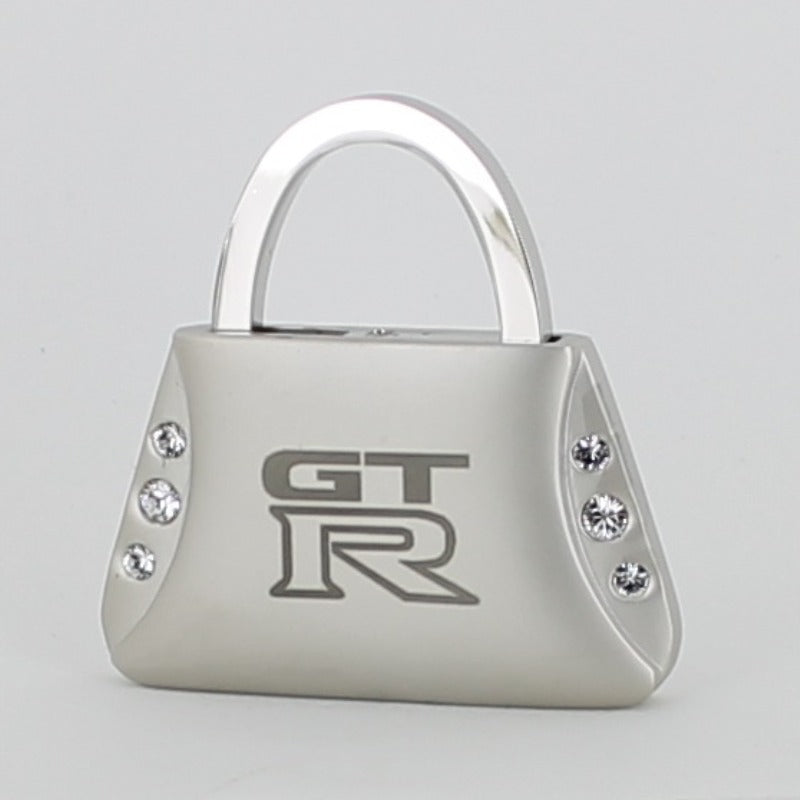 Nissan GTR Purse Shape Keychain (Chrome) - Custom Werks