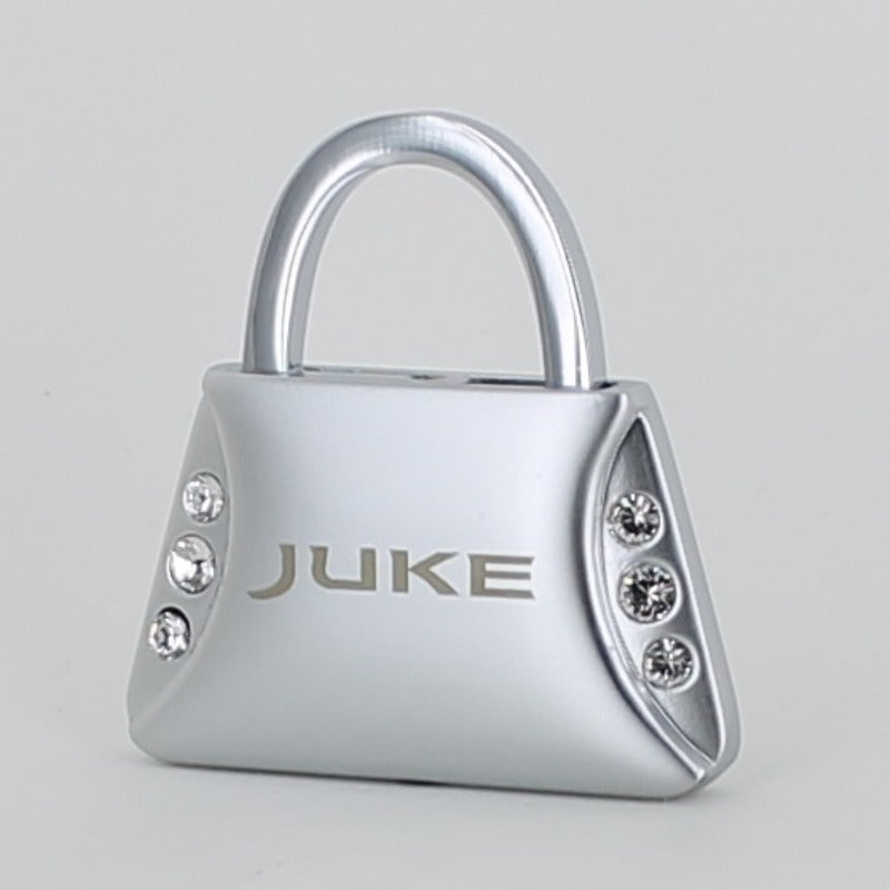 Nissan Juke Purse Shape Keychain (Chrome) - Custom Werks