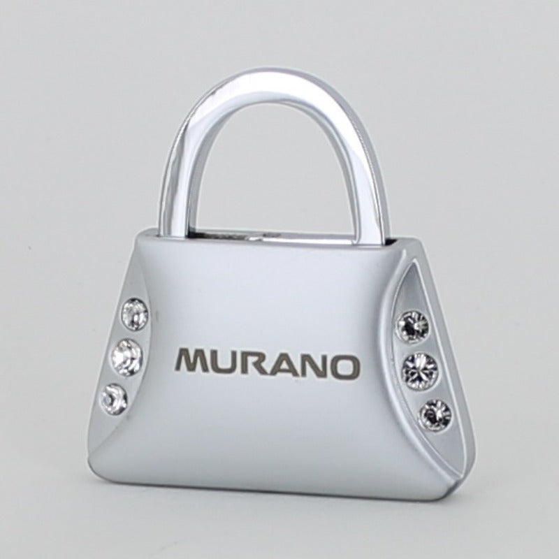 Nissan Murano Purse Shape Keychain (Chrome) - Custom Werks