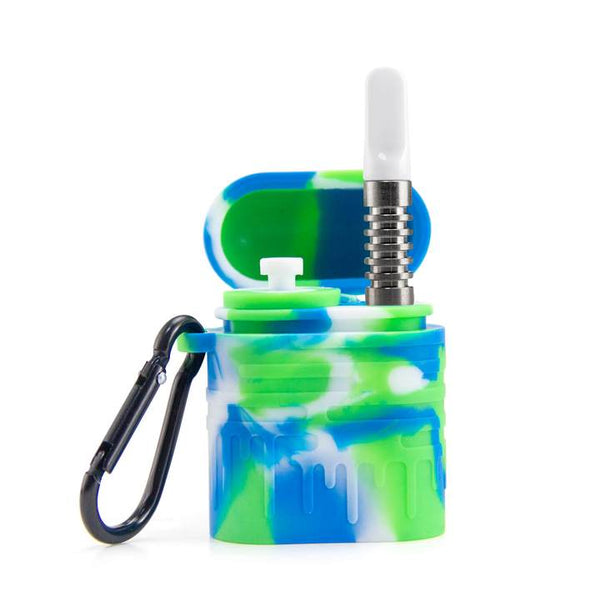 Silicone Dugout One Hitter Set