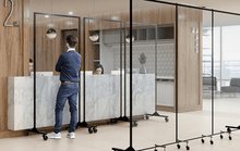 Load image into Gallery viewer, VERSARE-360-Clearview-Room-Divider
