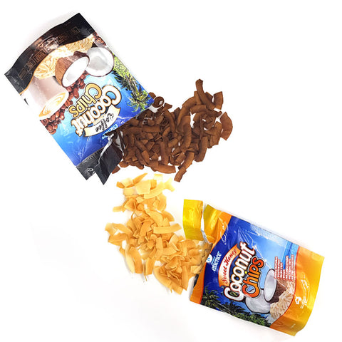 Coconut Chips Sweet Honey and Coffee 20 x 40g Packets