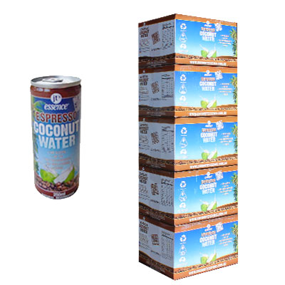 Bulk Buy 5 Espresso Coconut Water 60 Small Cans 250 ml