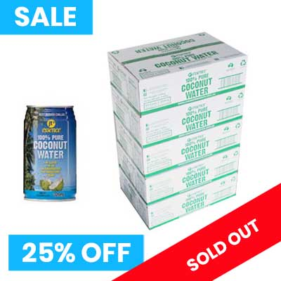 Pure Coconut Water 5 boxes 320ml small cans