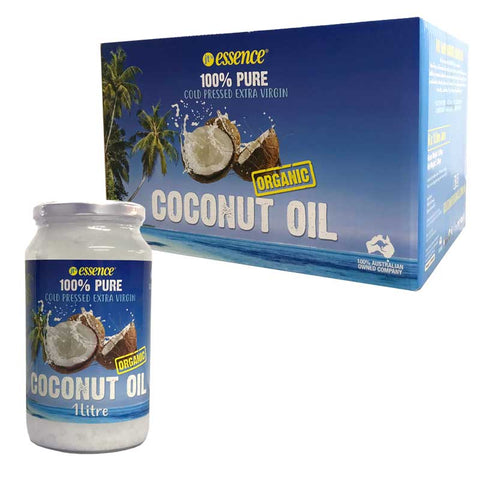 Cold Pressed Extra Virgin Coconut Oil 6 One Litre Jars Free Shipping